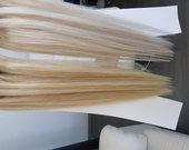 Nauji 100% naturalus plauku tresai 60#