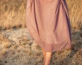 Ilgas sijonas su pamušalu