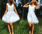 nauja balta suknute