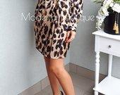 Leopardinė suknele