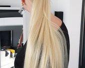 Nauji 100% naturalus plaukai-kasa