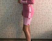 Šilta rausva suknutė