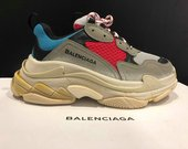 Balenciaga Triple S Blue/Red/Grey