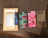 Iphone 7 dėkliukai ir plėvelė