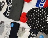 Žieminės gražios Adidas kepurytės. Puiki dovana