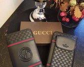 Gucci pinigine su kisenele telefonui