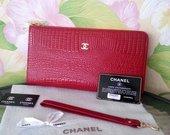 nauja odinė didžioji Chanel piniginė