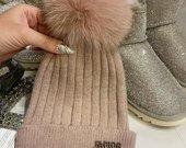 Jadior kepures su naturaliu kailiuku