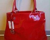 Nauja, tobula, raudona, ryški Blugirl rankinė