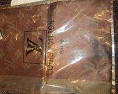 Louis Vuitton rudas šiltas šalikas