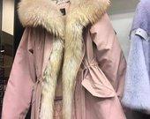 SALE Parka žieminė striukė su kapišonu
