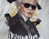 Karl Lagerfield tipo palaidinė