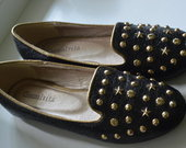 Nauji stilingi loafers bateliai