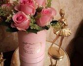 AKCIJA Rožių puokštė dėžutėje
