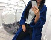 Mėlynas kardiganas
