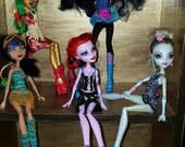 Monster high originalios mattel leles