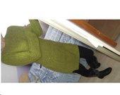 GREEN megztinis-tunika