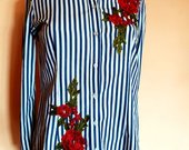 Gėlėti marškinukai