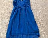 Vila mėlyna suknelė