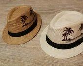 Pležo šiaudinės kepuraitės