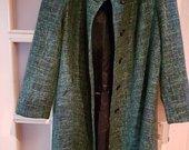Žalias paltas pavasariui 52 dydis