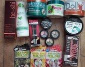 Naujos kosmetikos rinkinys su siuntimu