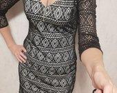 Juoda suknelė su pamušalu Mark New York