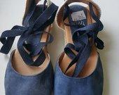 Mėlynos Alba Moda basutės 39 dydis