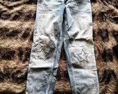 Mėlyni džinsai su žvaigždutėm