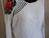 Megztinis su rože