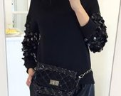 Juodas džemperis/megztinis