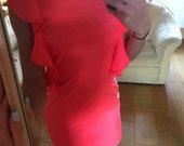 rožinė suknele