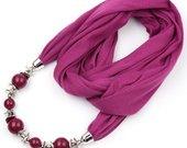 violetinis kaklo papuosalas