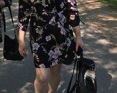 Šifoninė suknelė-tunika