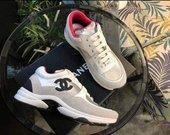 Chanel CC logo sneakers kedukai