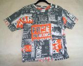 Margi, tipografika papuošti marškinėliai
