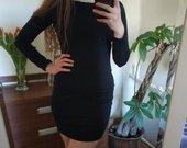 Bodycon suknelė su atviresne nugara
