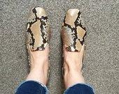 Zara gyvatės odos bateliai