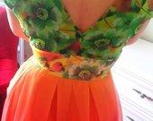 Vasarine naturalaus silko suknele