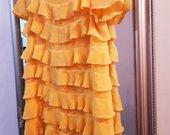 Trumpa geltona suknele