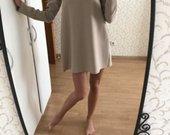 Kreminė suknelė