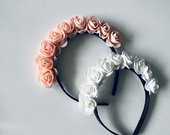 Lankeliai su rožytėmis, gėlytėmis 2 vnt