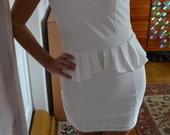 balta nauja suknelė