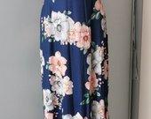 Nauja ilga gėlėta suknelė