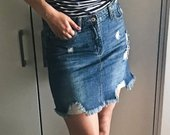 Dzinsinis sijonas