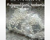 Perliukai drabužių ir aksesuarų dekoravimui