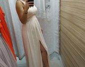Proginė švelni suknele