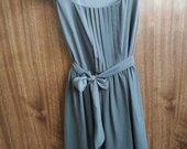 pilka nauja suknele