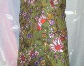 Puošni gėlėta suknelė su šalikėliu 2876-2