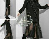 Nuostabu suknelė su tiūliu